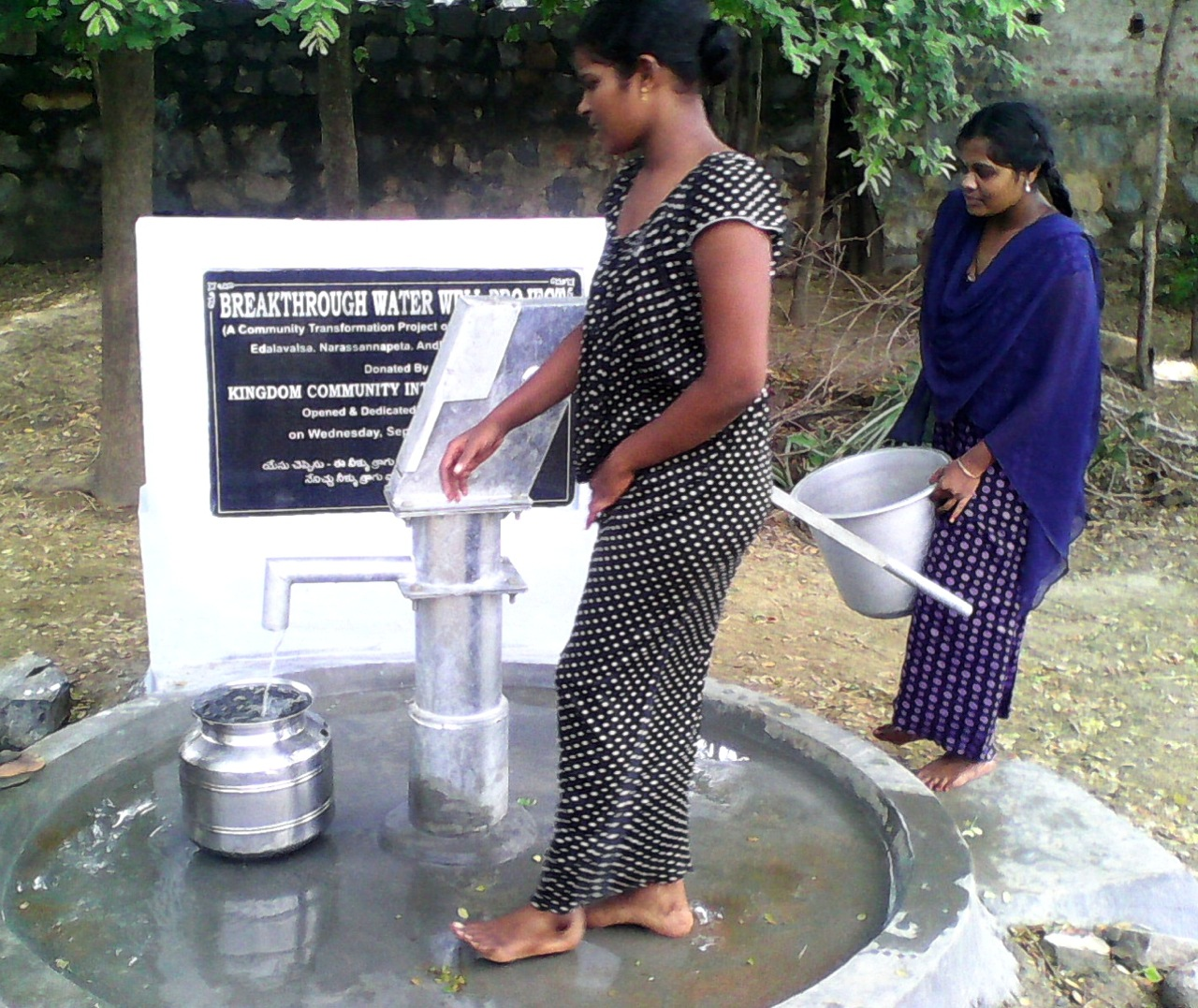 Wisdom For Asia Water Well