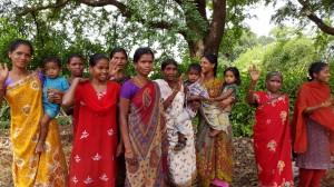 Women from Balluguda Village
