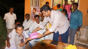 Abraham Distributing the Flip-Flop